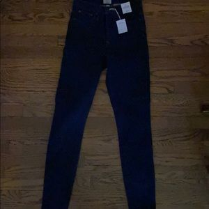 J.Crew NWT high-rise toothpick jeans 27T